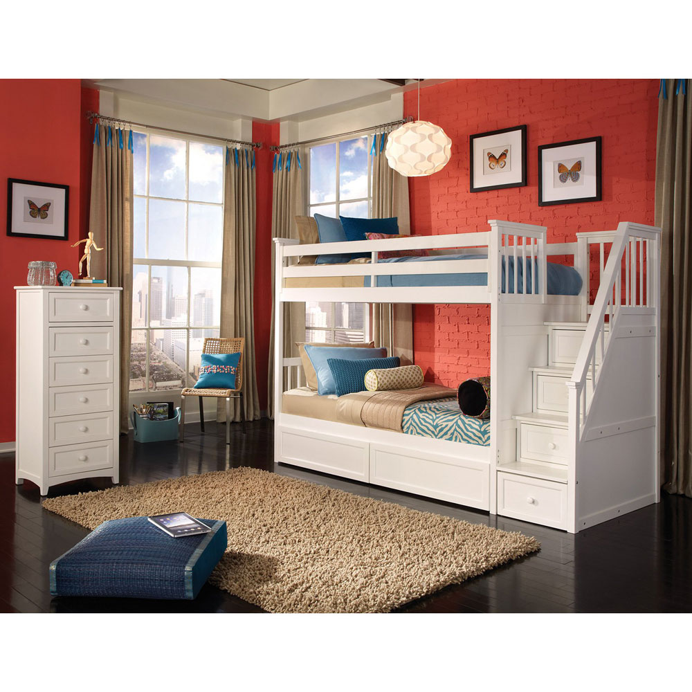 3 Bed Bunk Beds And Desk