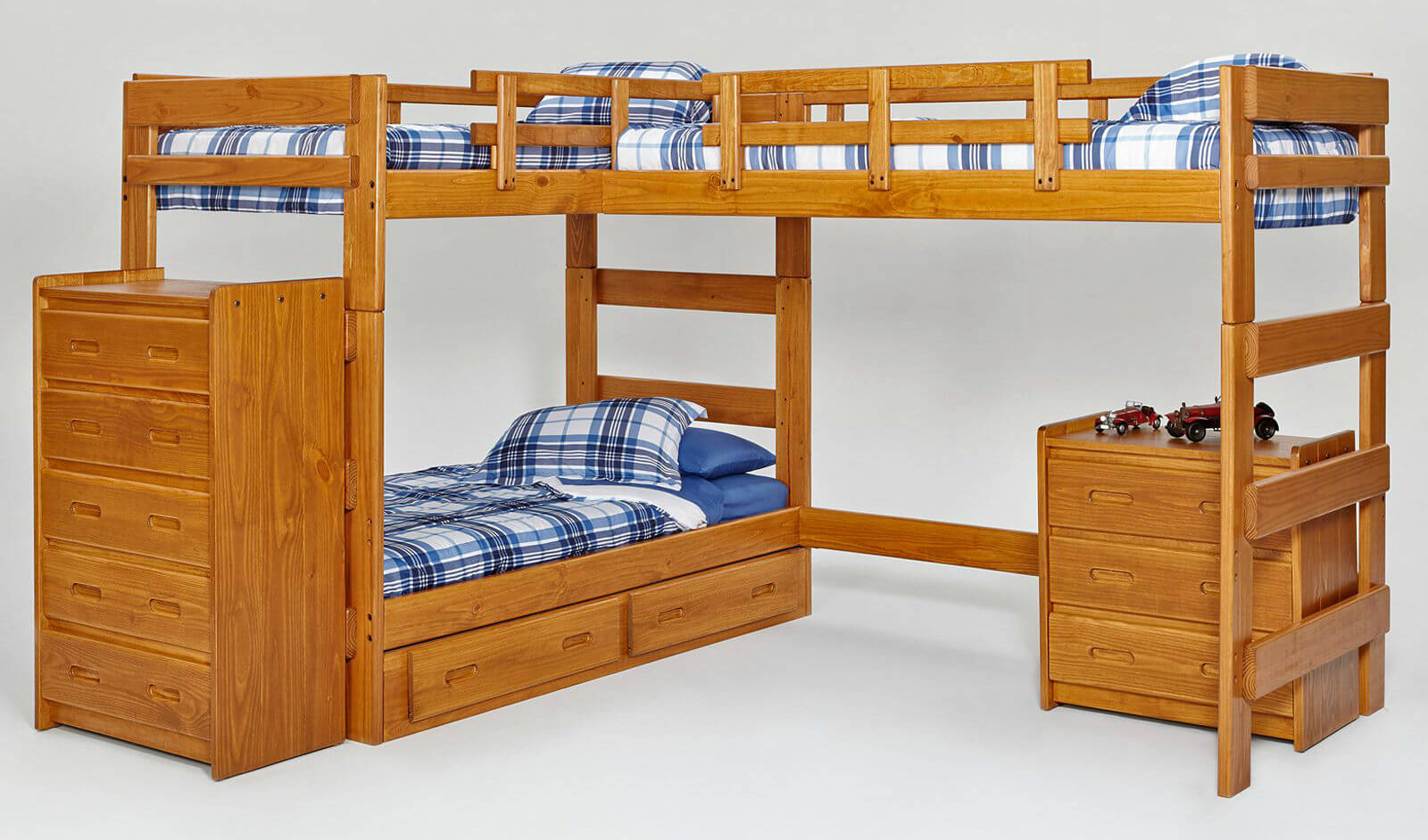 3 Bunk Bed Solution
