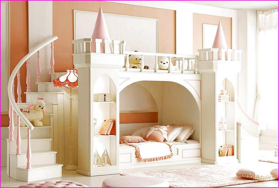 Image of: Amazing Princess Bunk Bed