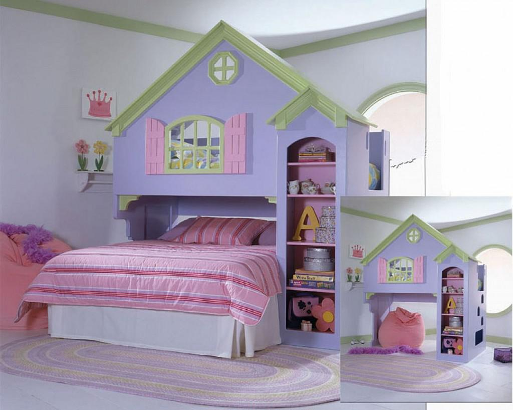 Image of: Awesome Princess Bunk Bed