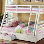 Beautiful White Bunk Beds Twin Over Full