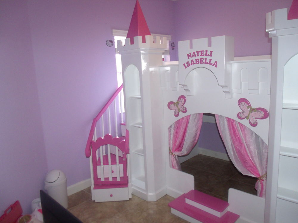 Image of: Best Princess Bunk Bed