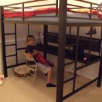 Boys Full Bunk Bed with Desk