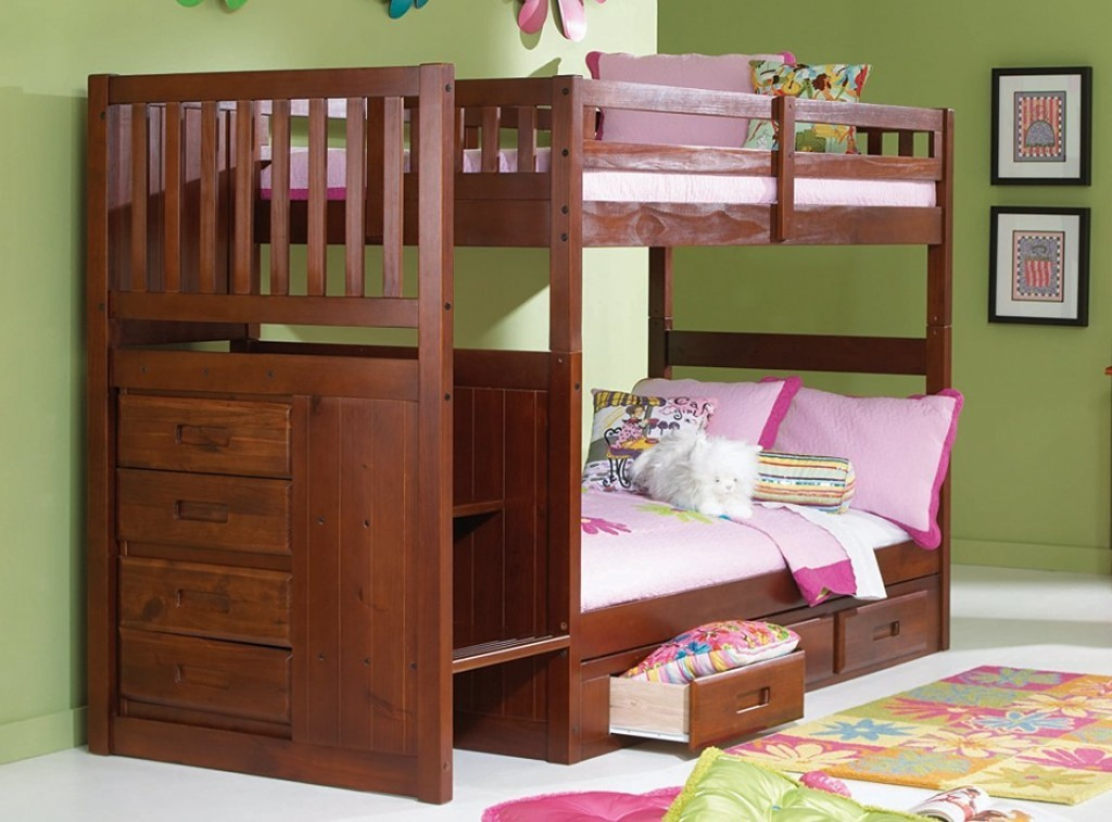 Image of: Bunk Bed Cots Bedding