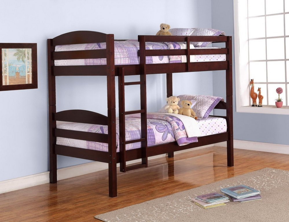 Image of: Bunk Bed Cots Designs For Small Rooms