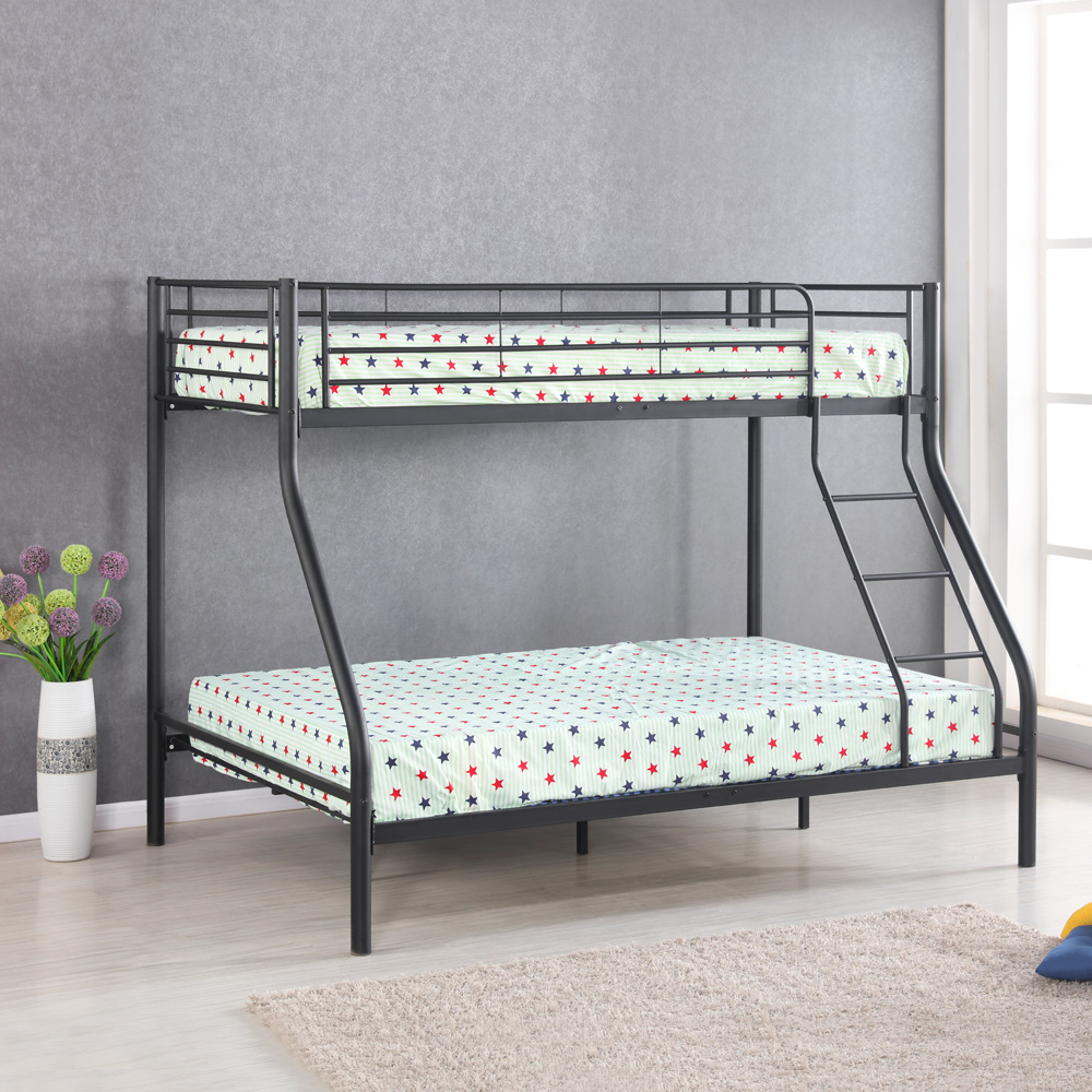 Image of: Bunk Bed Frames Twin Over