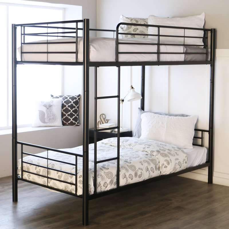 Image of: Bunk Bed Frames Twin