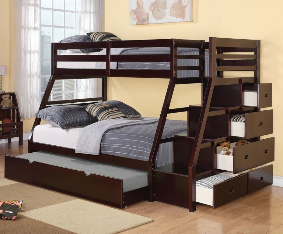 Bunk Bed Ladders with Desk