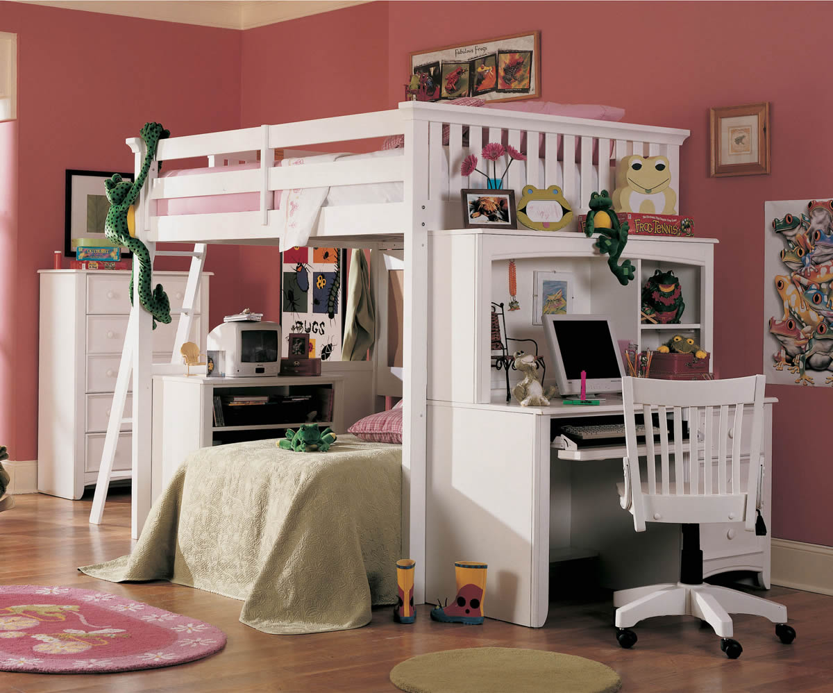 Bunk Bed With Desk For Adults Style