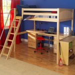 Bunk Bed with Table Underneath Design