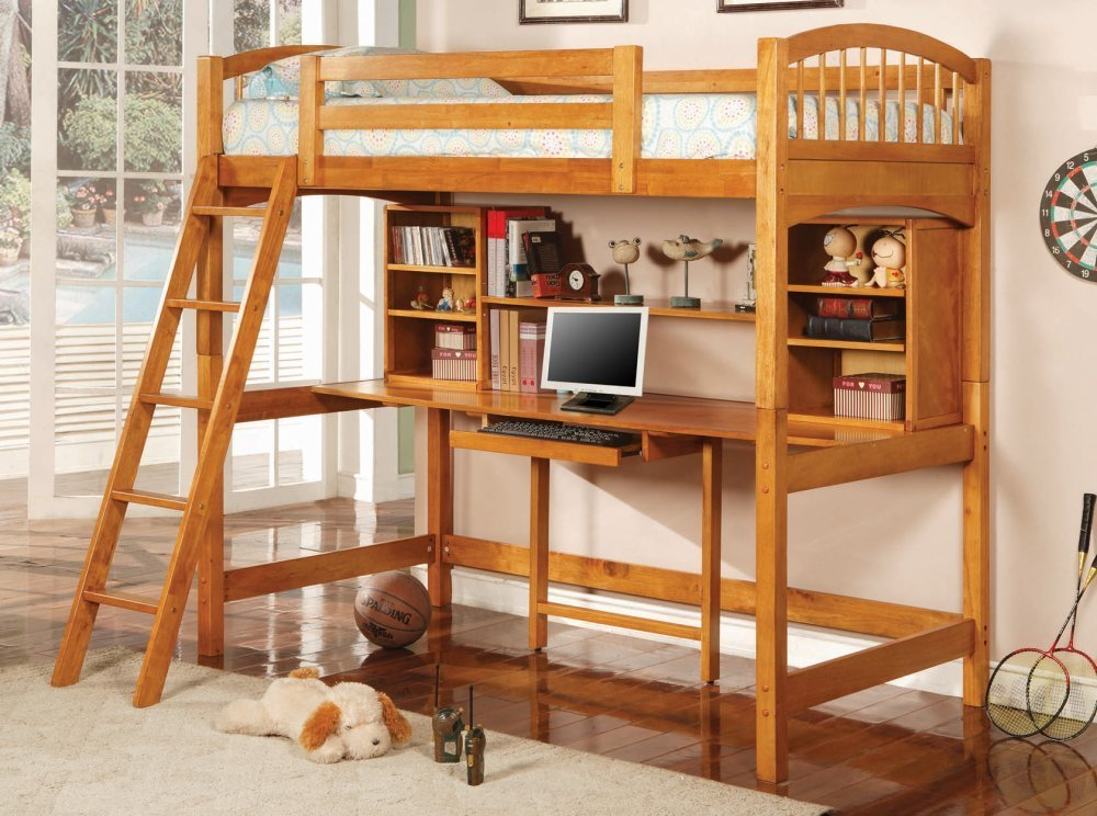 Bunk Beds With Stairs And Desk Best