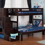 Bunk Beds for Girls with Stairs Design