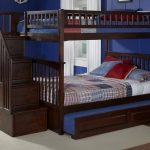 Bunk Beds for Kids with Stairs and Trundle