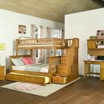 Bunk Beds with Trundle Bed Black