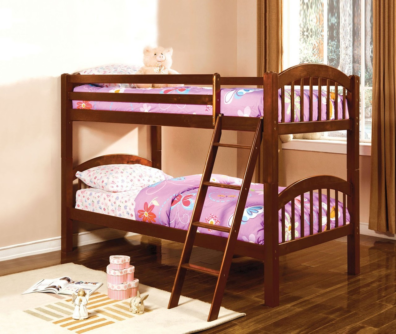 Cherry Bunk Beds