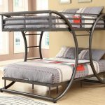 Contemporary King Size Bunk Bed