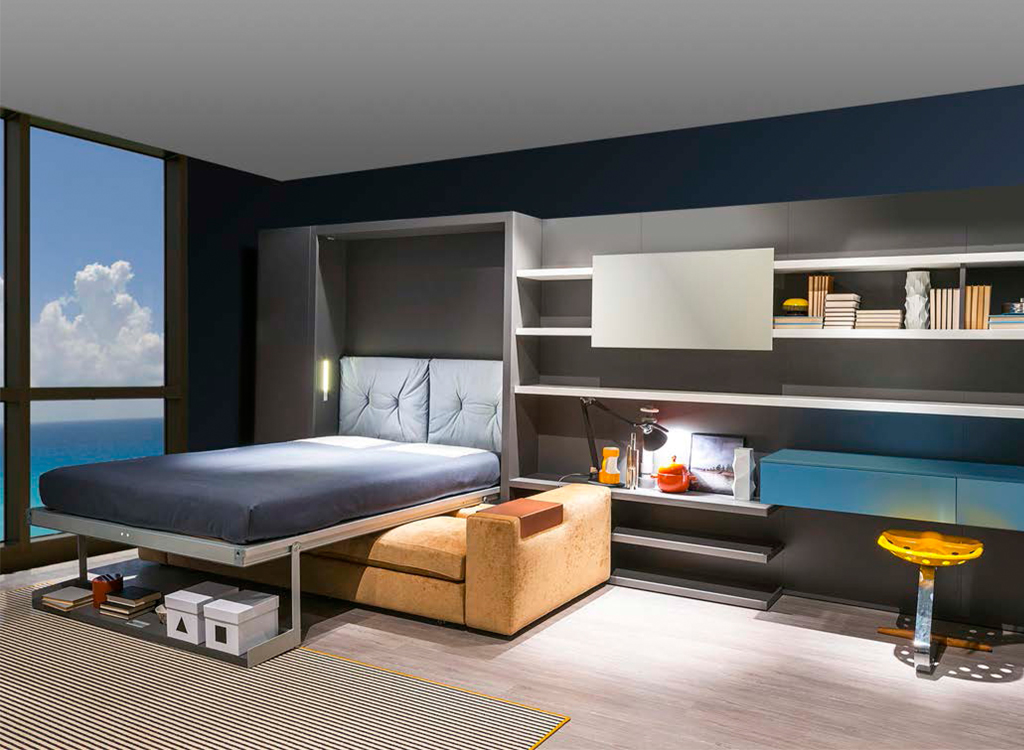 Couch That Converts To Bunk Bed Modern