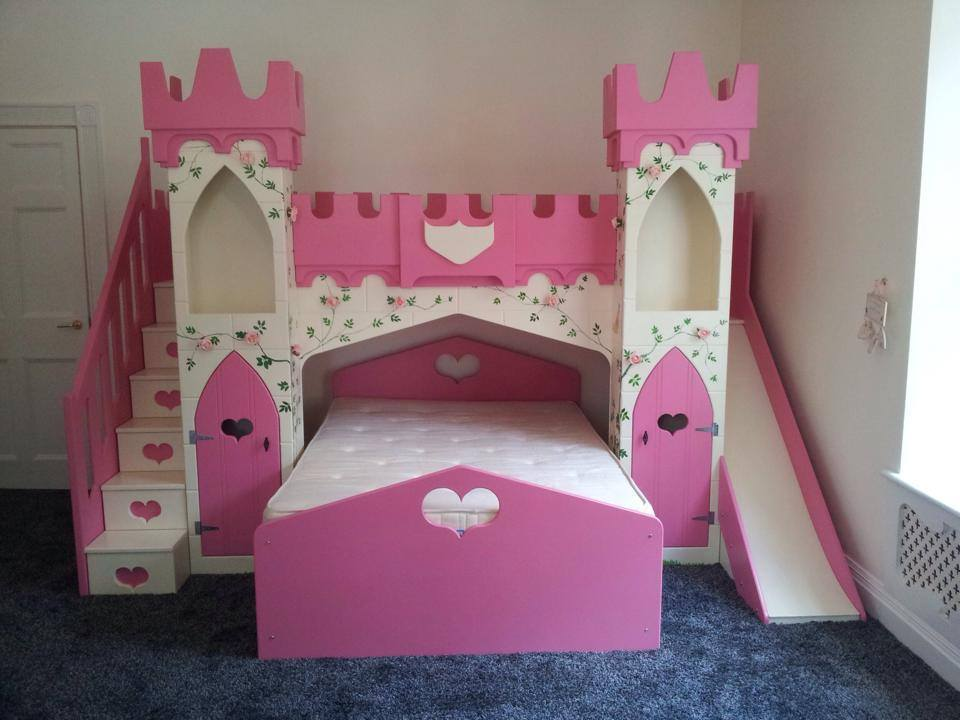 Image of: Cute Princess Bunk Bed