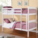 Cute White Bunk Beds Twin Over Twin