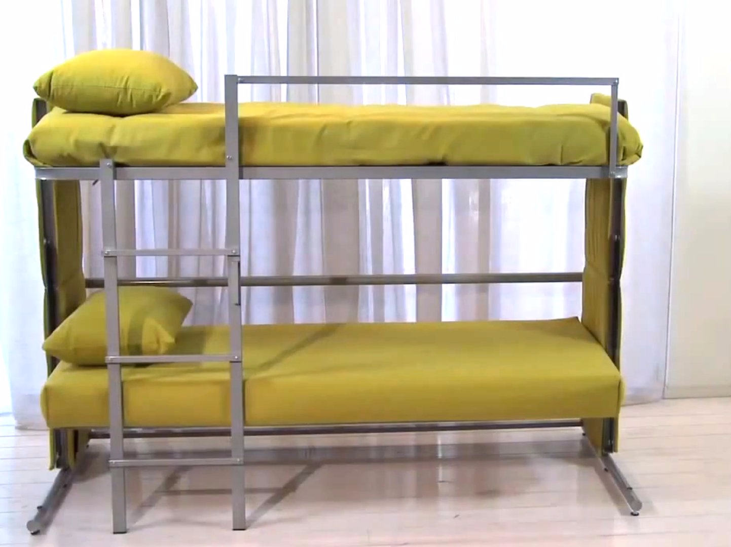 Designed Couch That Turns Into a Bunk Bed