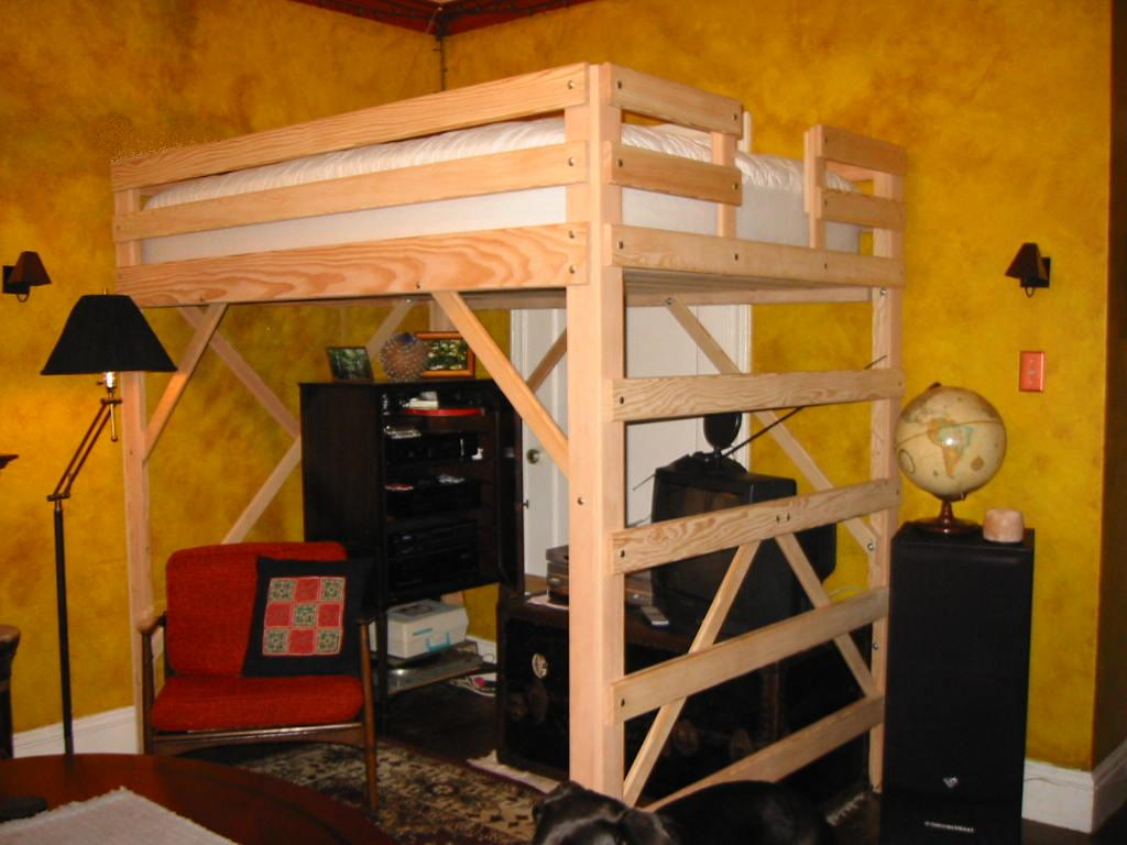 Diy Bunk Bed with Queen Size Bottom