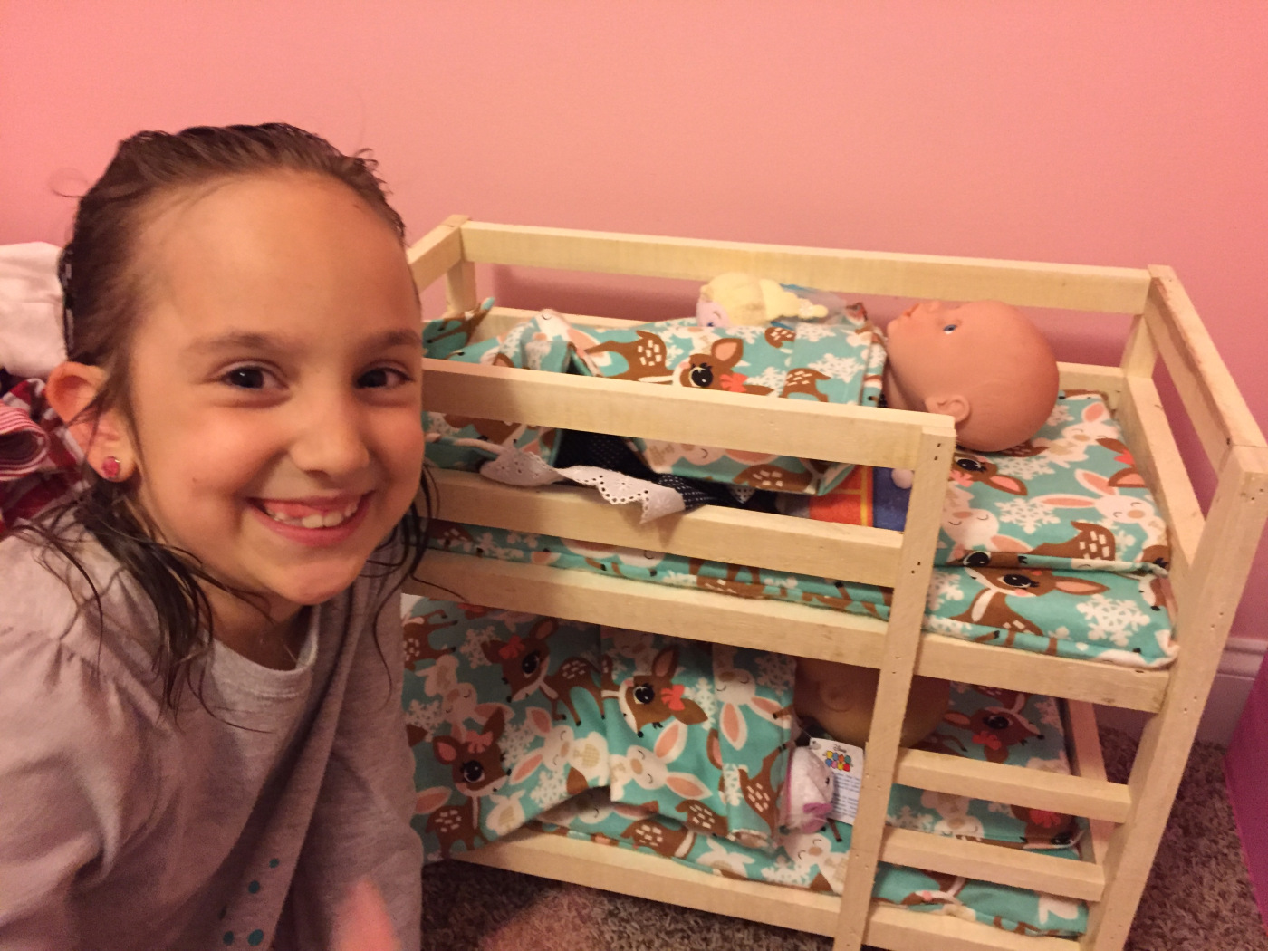 Doll Bunk Beds Simple