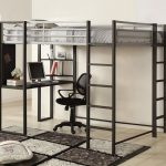Full Bunk Bed with Desk Features
