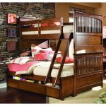 Full Over Full Bunk Bed Plans with Stair and Trundle