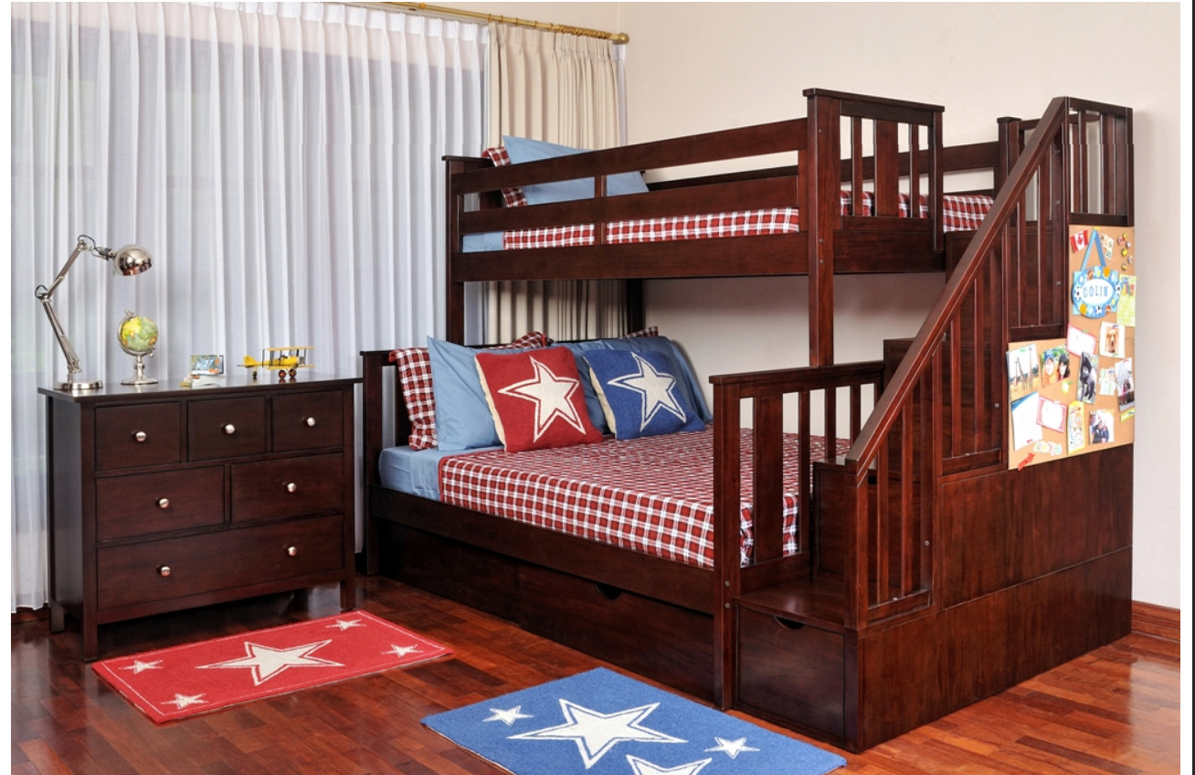 Gorgeous Cherry Bunk Beds