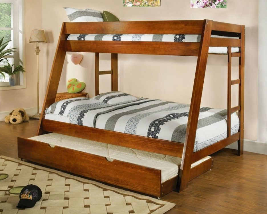 Great Twin Over Full Bunk Bed Plans