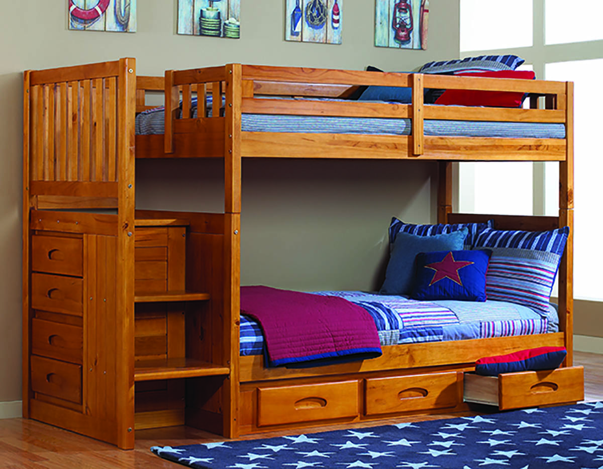 Honey Bunk Beds Twin Over Twin