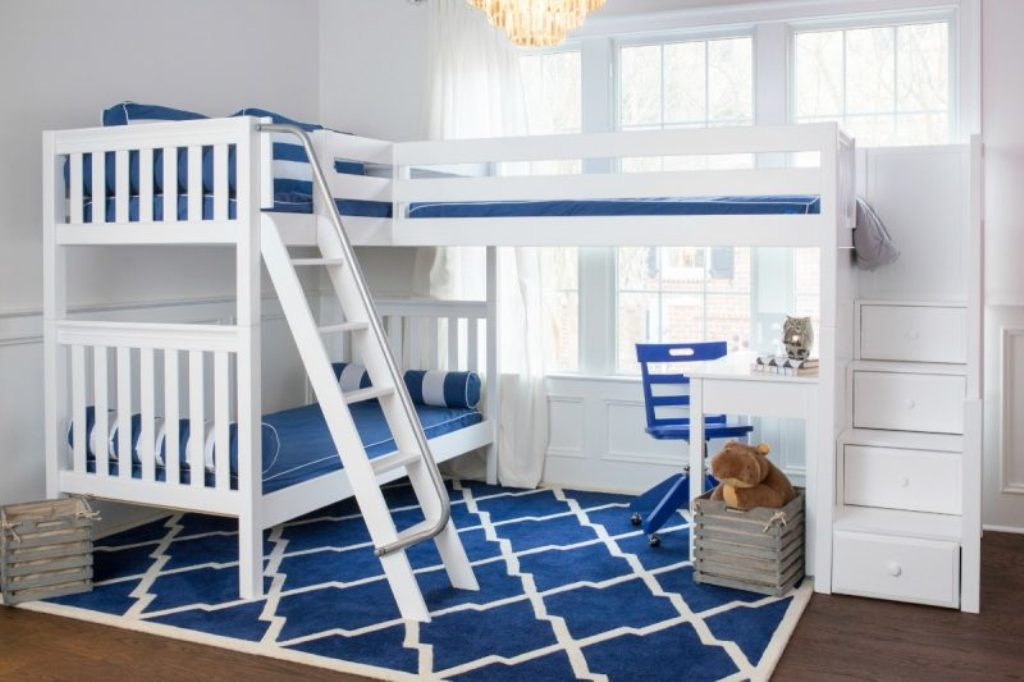 L Shaped Corner Bunk Beds