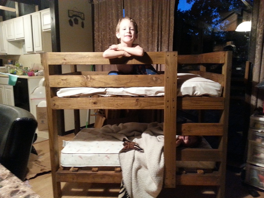 Large Toddler Size Bunk Beds