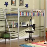 Loft Bunk Beds with Desk for College