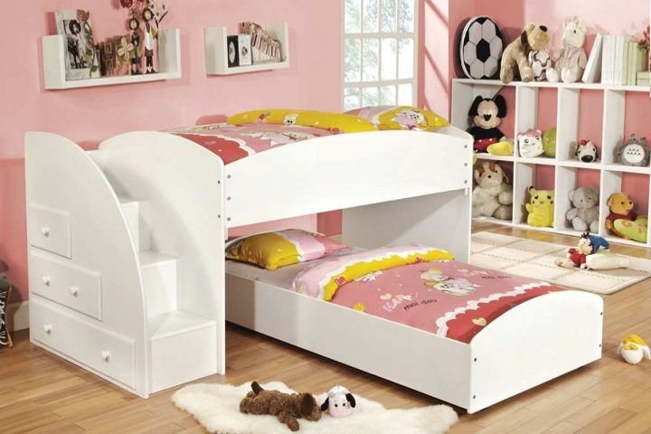 Long Storkcraft Bunk Bed