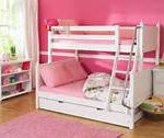 Low Bunk Bed with Trundle Cute