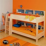 Low Bunk Beds Orange