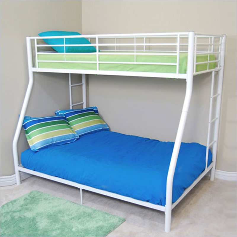 Image of: Metal Frame Bunk Beds Small