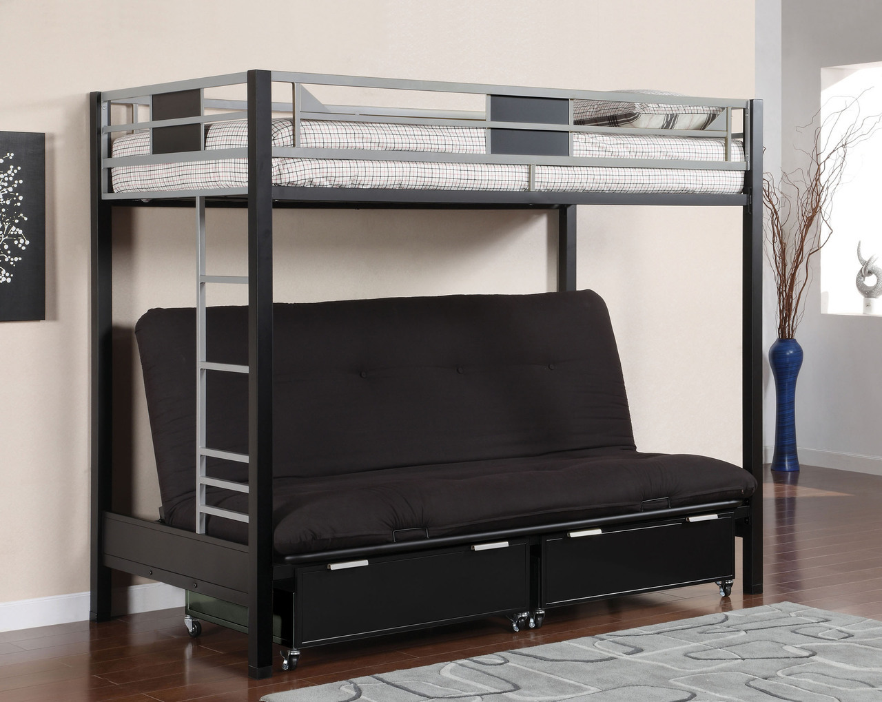 Metal Twin Bunk Beds Style