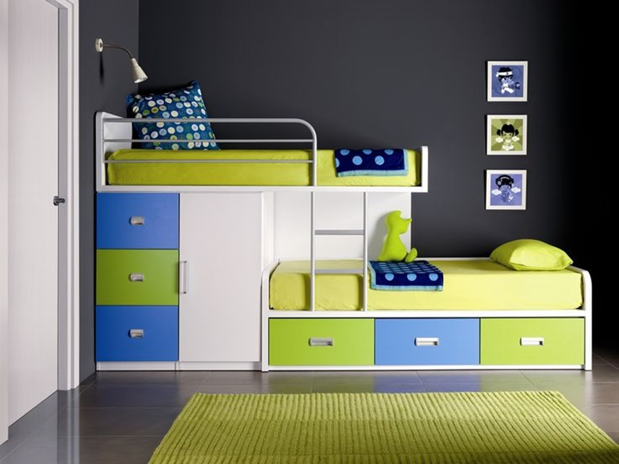 Modern Bunk Beds For Small Rooms