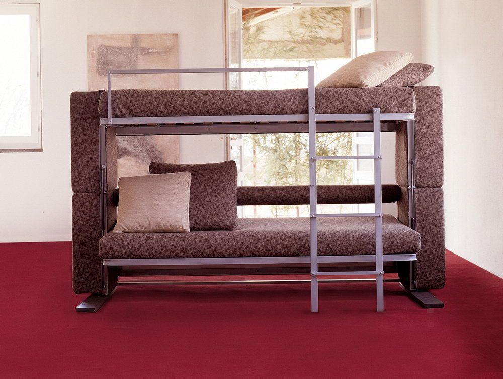 Modern Couch That Converts To Bunk Bed