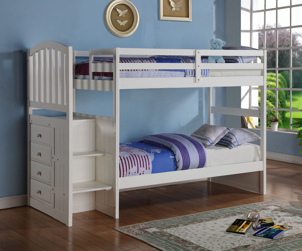 New Bunk Beds Twin Over Twin
