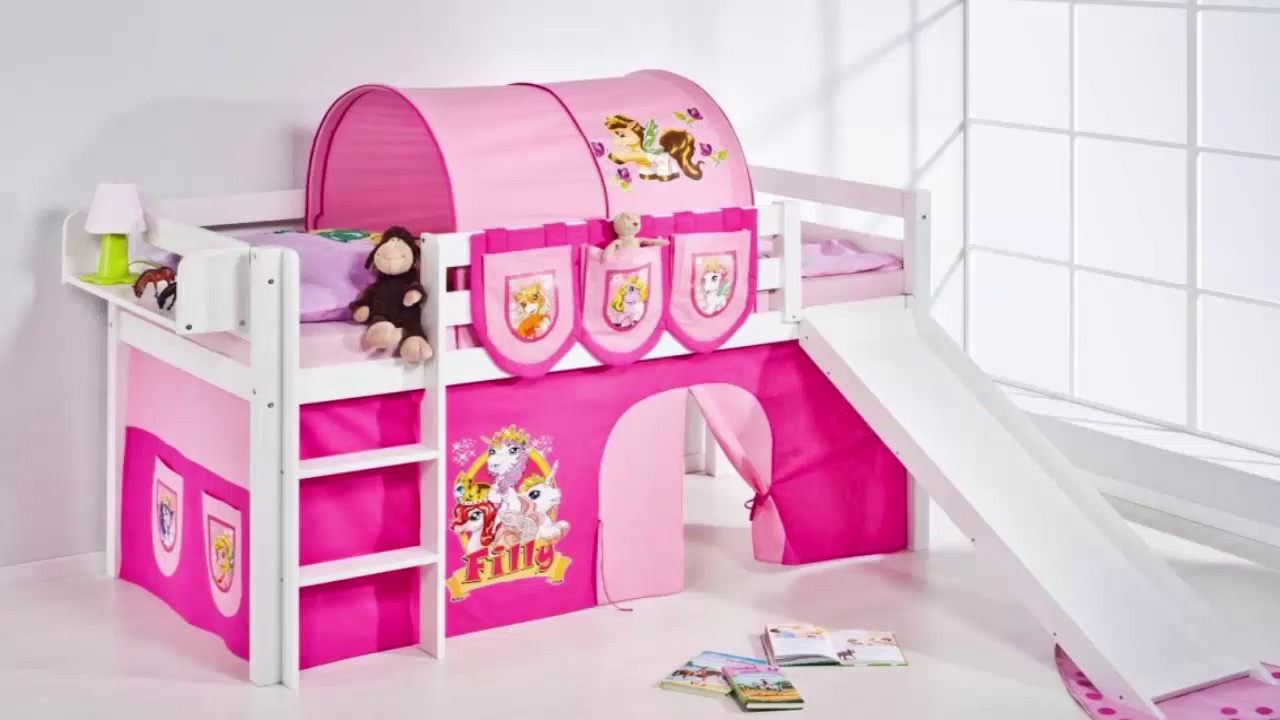 Image of: Nice Princess Bunk Bed