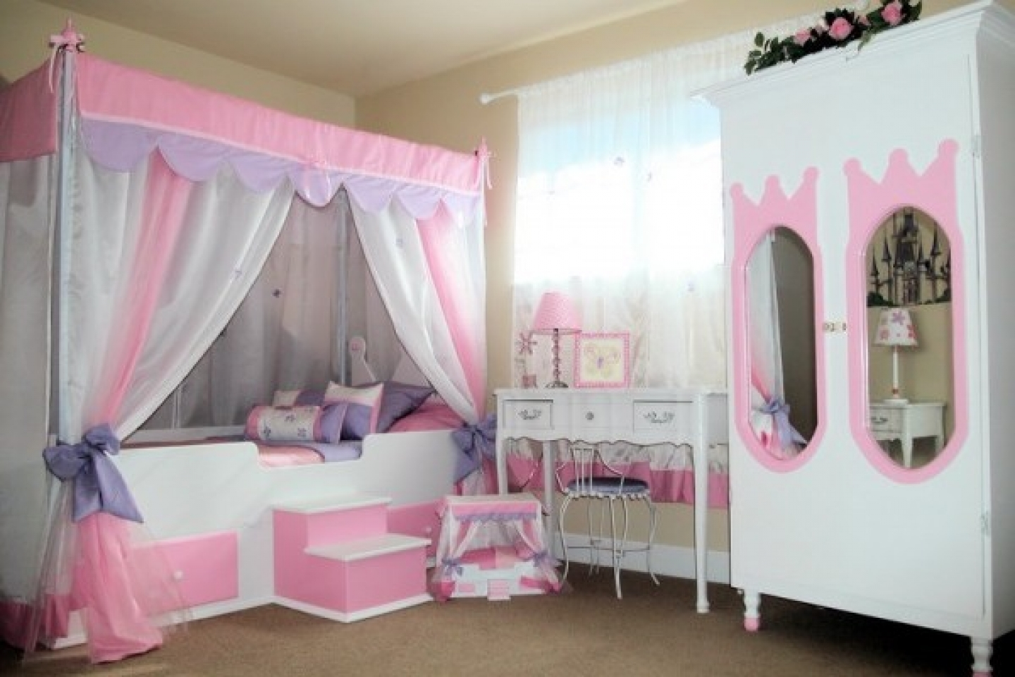 Image of: Princess Bunk Bed Design Ideas