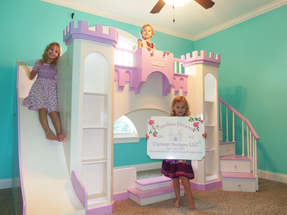 Image of: Princess Bunk Bed Ideas
