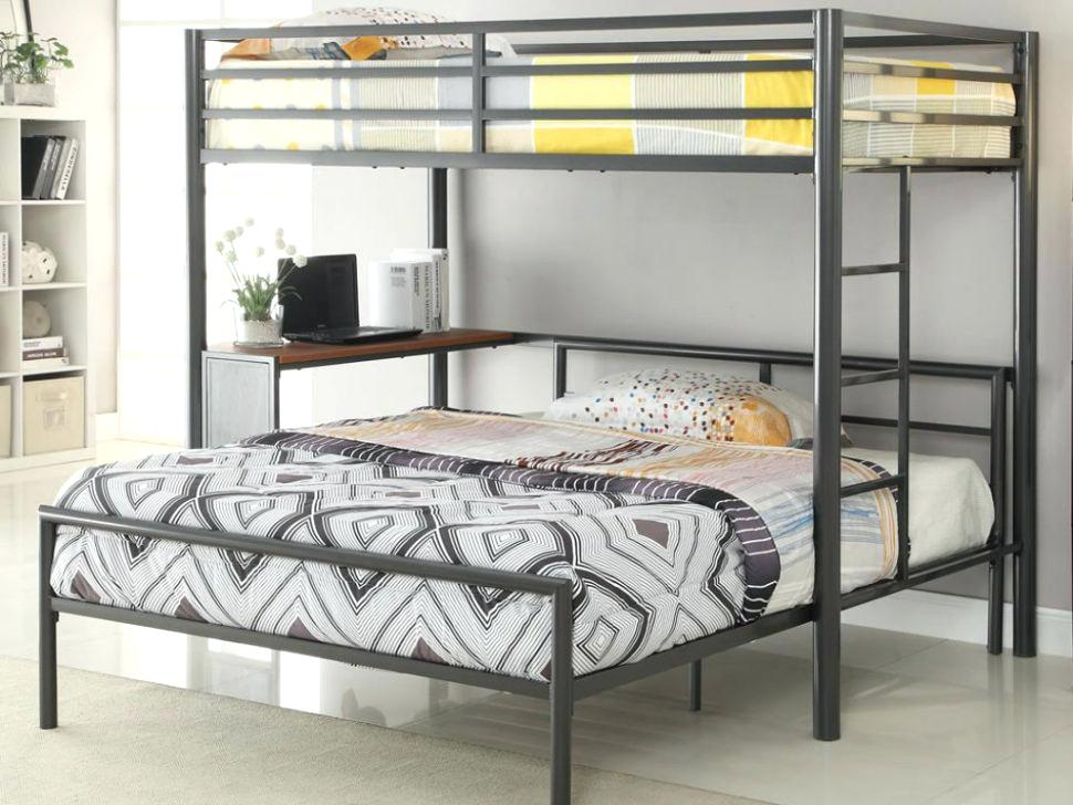 Image of: Queen Bunk Bed Trundle
