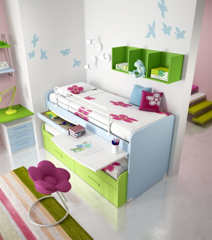 Summer Teenager Bunk Beds