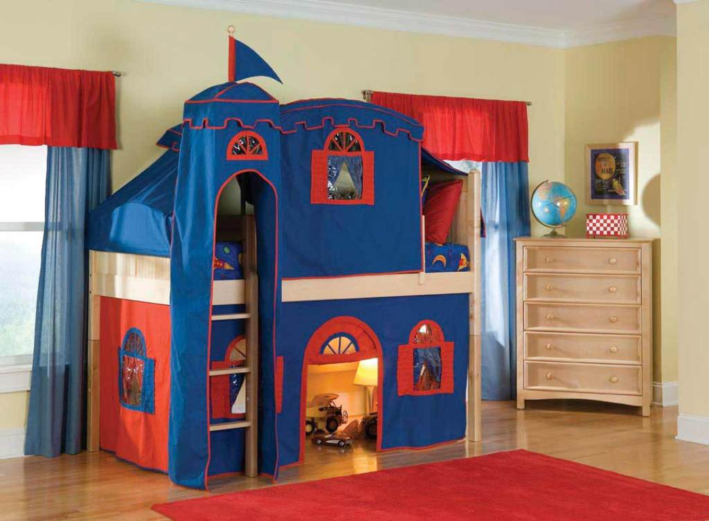 Themed Bunk Bed Tent