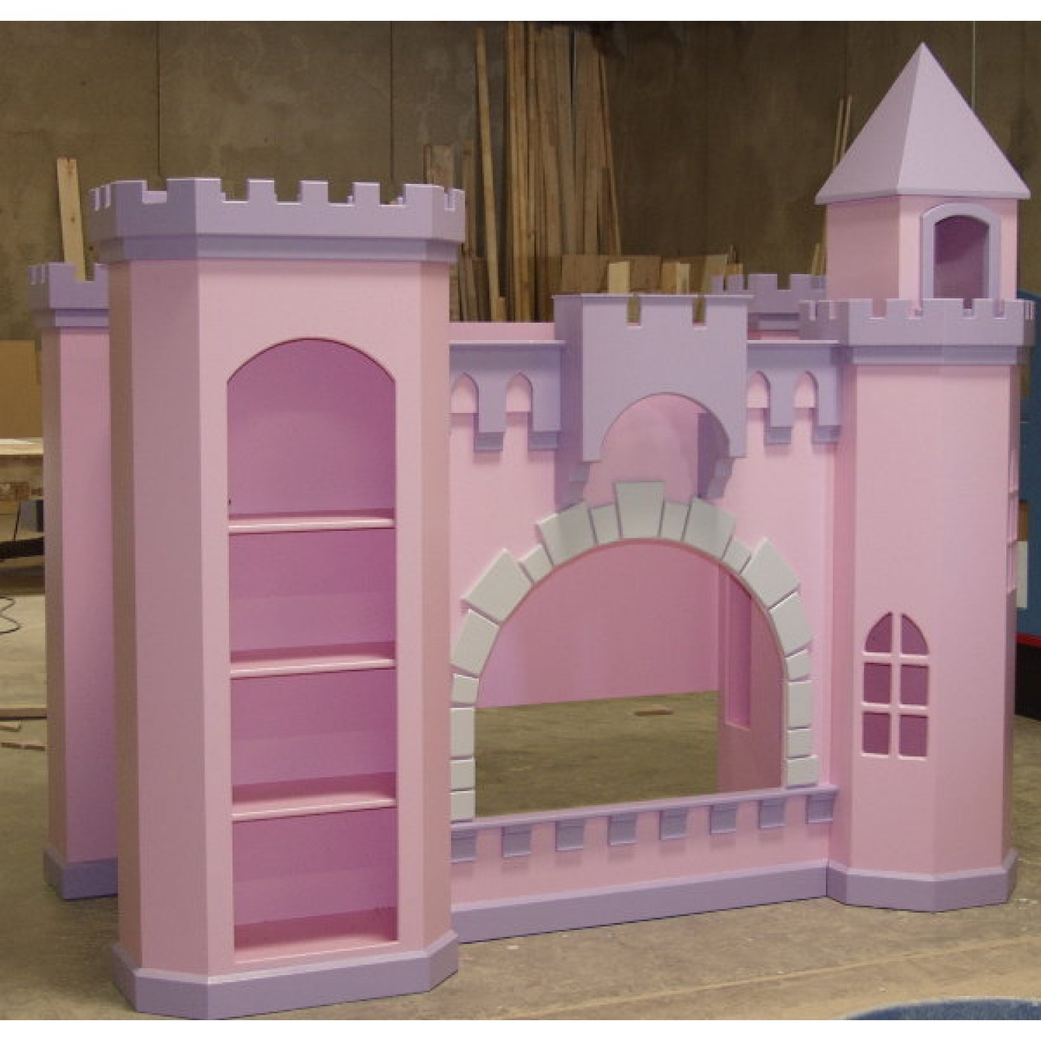 Themed Castle Bunk Bed