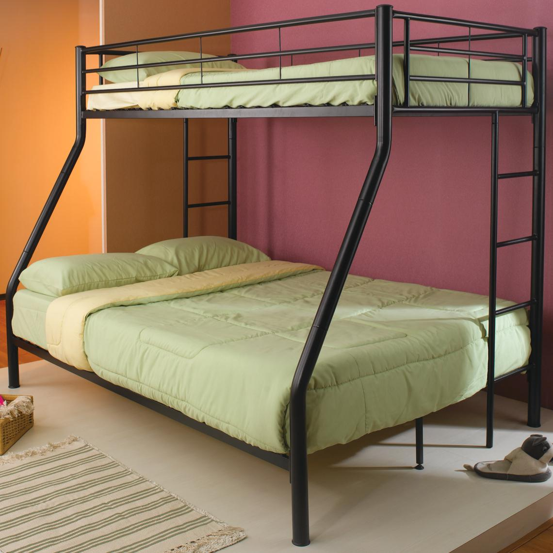 Traditional Metal Bunk Beds